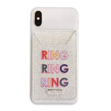 Ring Phone Card Holder