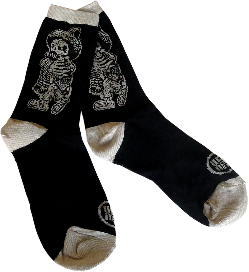 Posada Borracho Men's Crew Socks