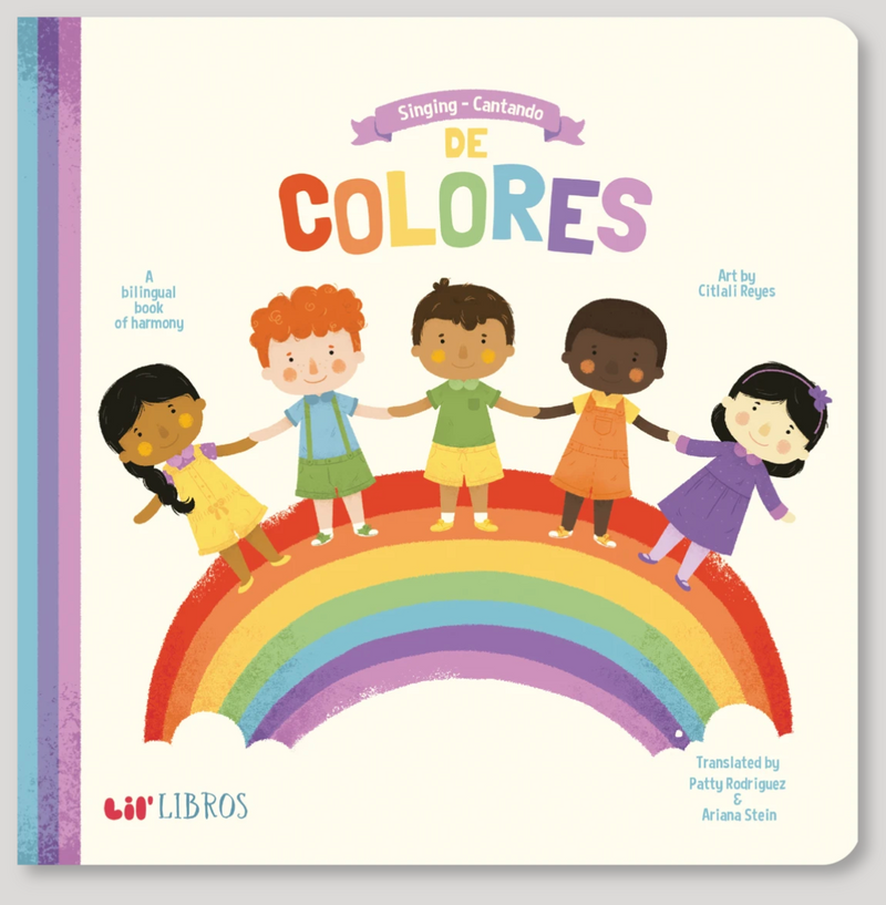 Singing - Cantando De Colores Lil Libro