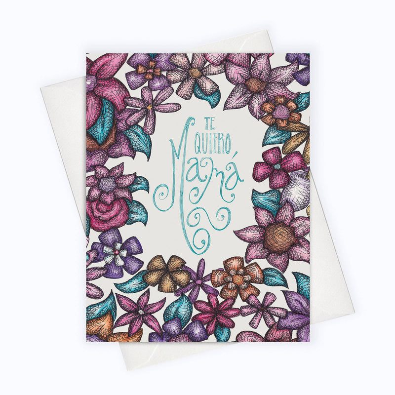 About A Cloud Stationery & Gifts - SPANISH CARD | Mother's Day Card | Día De La Madre | Latina