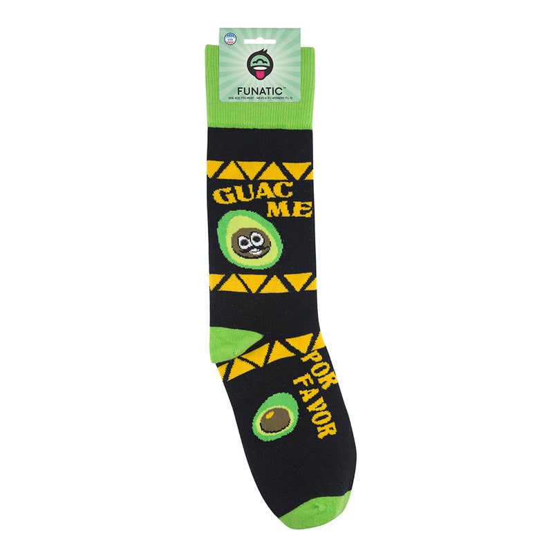 Funatic Socks - Guac Me Por Favor