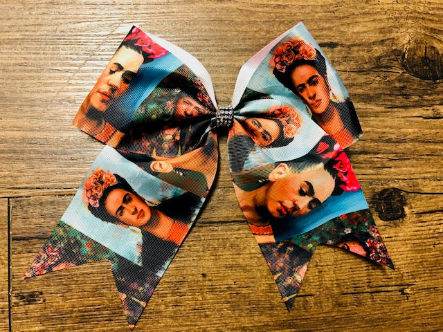 Frida Kahlo Inspired Hair Bow