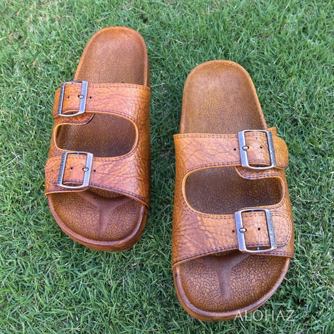 Pali Sandals Brown Buckle Unisex