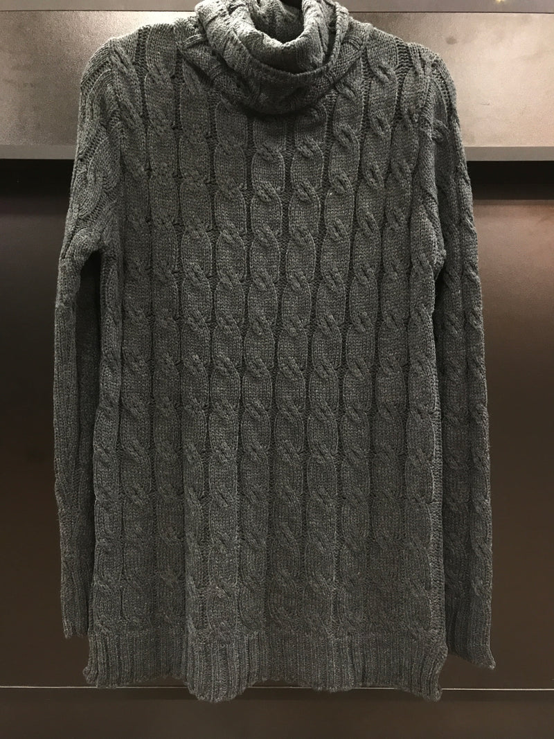 Charcoal knitted sweater