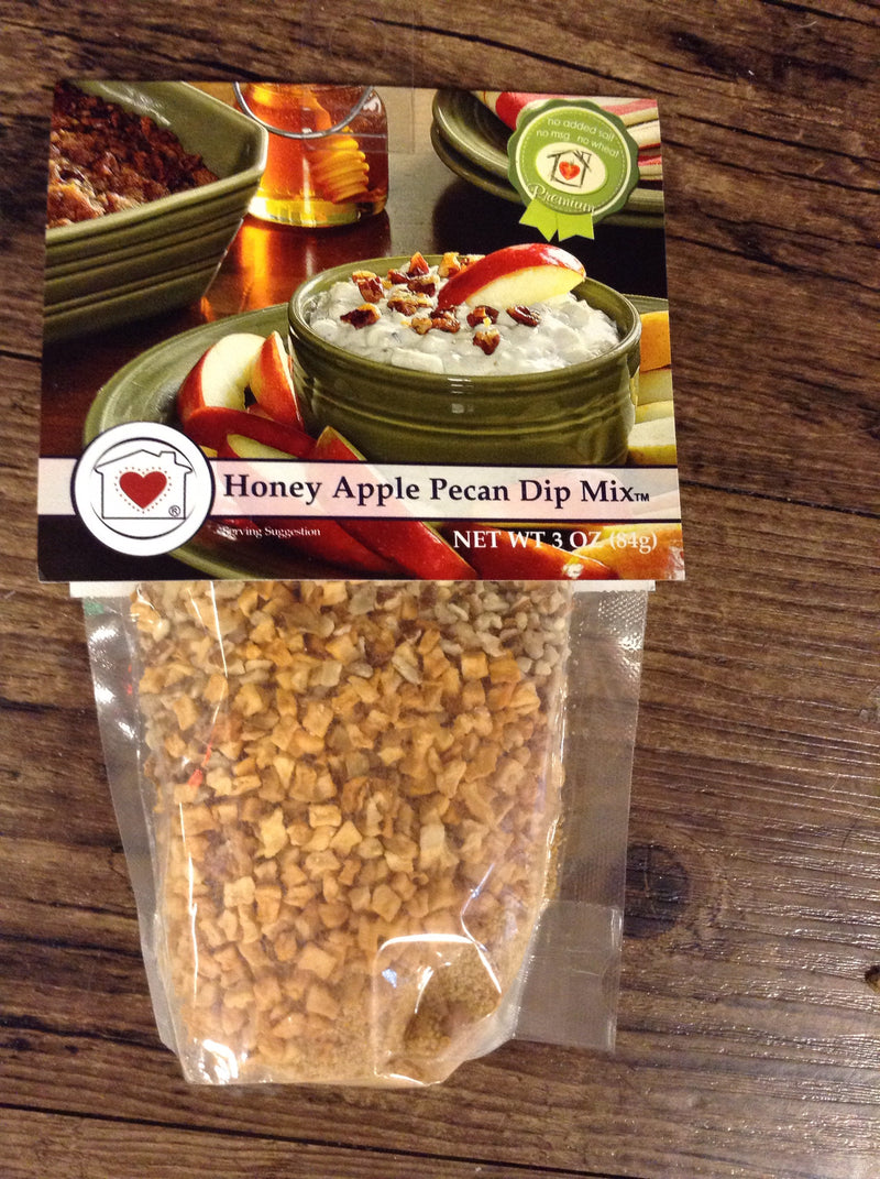 Honey apple pecan pie dip mix