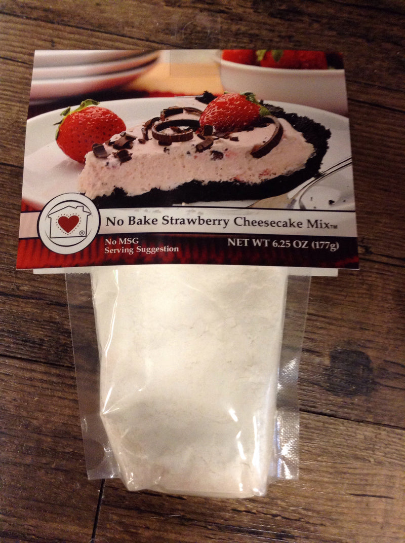 No bake strawberry cheesecake mix