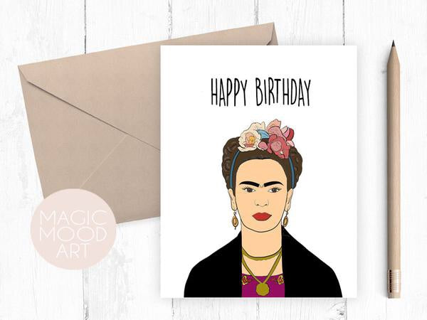 Happy Birthday frida