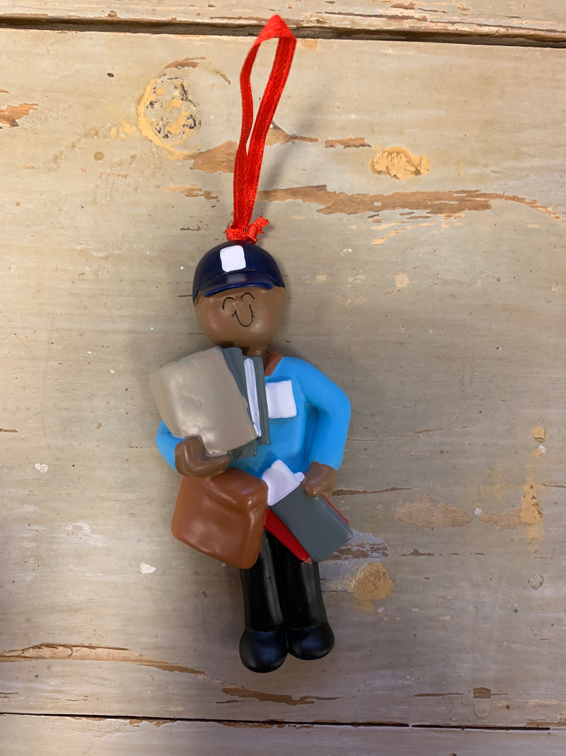 Mailman Ornament