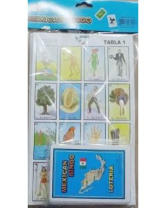 Traditional Loteria Mexican Bingo Game