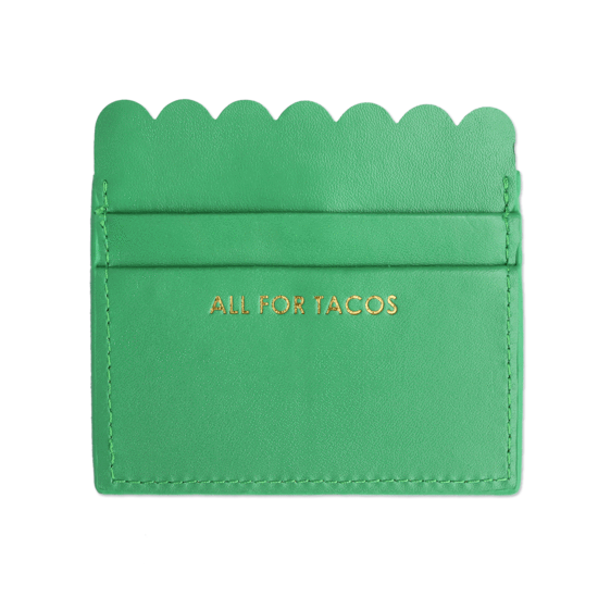 Packed Party- All For Tacos Scalloped Card Holder