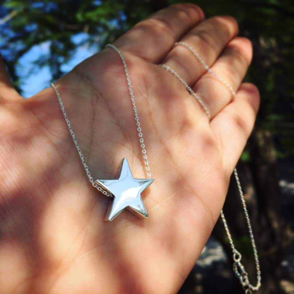 Silver 925 Star Necklace