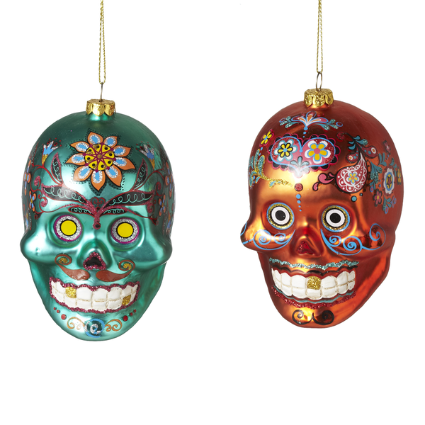 GANZ SUGAR SKULL ORNAMENT