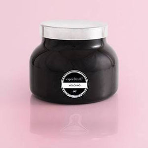 Volcano Black Signature Jar Candle