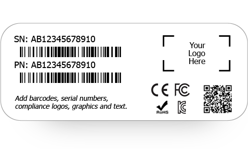 CUSTOM PRODUCT IDS AND PRODUCT LABELS