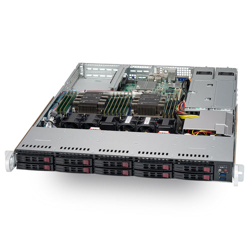 "VMware Certified - Supermicro SYS-1029P-WTRT Dual Intel Xeon Scalable 1U Rackmount w/ 10 x 2.5"" Drive Bays"