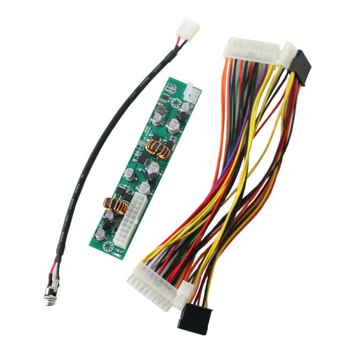 120W DC-DC Powerboard with ATX Power Cable and DC Input Jack Cable
