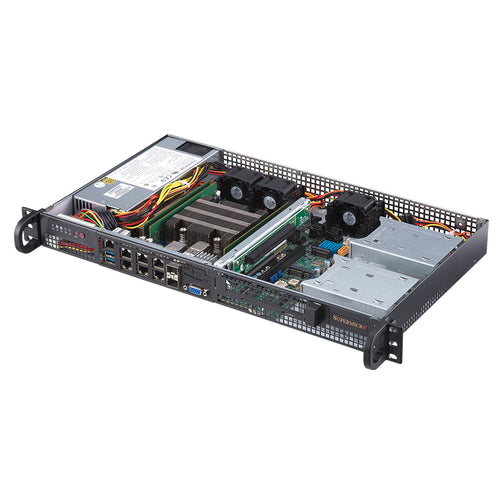 VMware Certified - Supermicro SYS-5019D-FN8TP Intel Xeon D 8-Core 1U Front I/O Rackmount