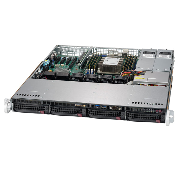 "MITXPC Software Defined Storage Solution - 4 x 3.5"", Intel Xeon Scalable, 1U Rackmount, FreeNAS"