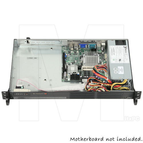 Supermicro Mini 1U Rackmount Case w/ 200W Power Supply