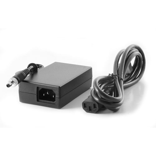 60W 12V 5A AC-DC Power Adapter Efficiency Level 6 w/ Locking Barrel Connector, 6ft Power Cord