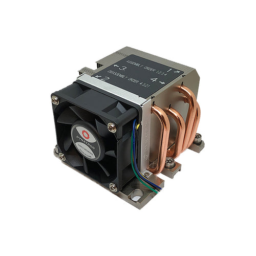 Dynatron B13 Intel LGA 3647 Square ILM CPU Cooler for 2U Rackmount, 205W TDP