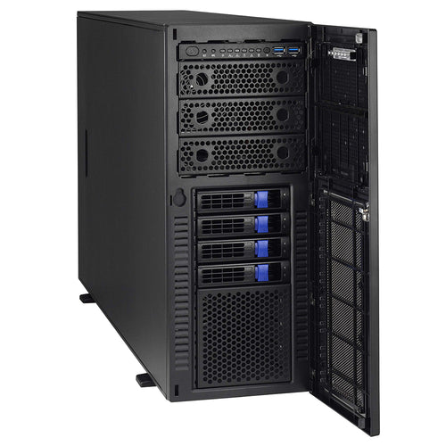 "VMware Certified - Tyan B7105F48TV4HR-2T-N Dual Intel Xeon Scalable Tower 4U Rackmount w/ 4 x 3.5"" Drive Bays"