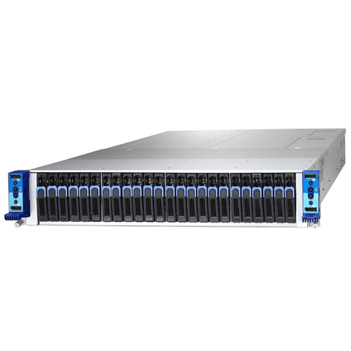 "Tyan Thunder CX TN200-B7108 4 Node 2U Rackmount w/ Dual Intel Xeon Scalable Processor per blade, 24 Hotswappable 2.5"" NVMe Drive bays"