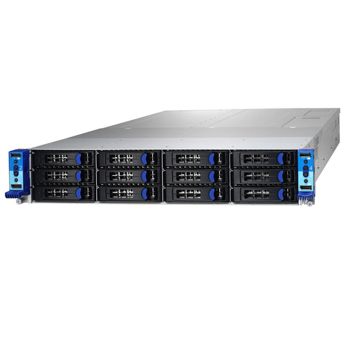 "Tyan Thunder CX TN200-B7108 4 Node 2U Rackmount w/ Dual Intel Xeon Scalable Processor per blade, 12 Hot Swappable 3.5"" Drive Bays"