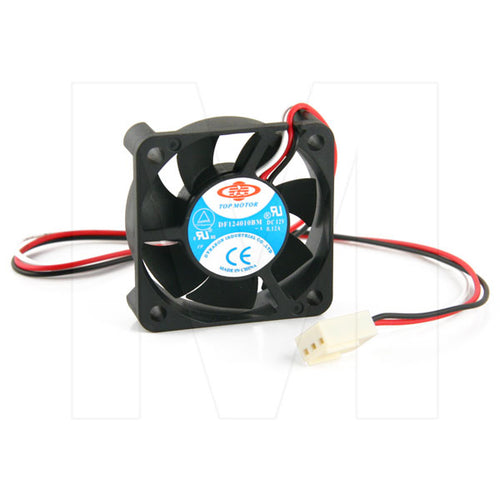 Dynatron 40x40x10mm 3 pin 12V Dual Ball Bearing Case Fan 5500 RPM, DF124010BM​-3G