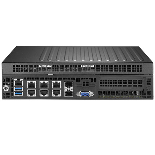 Supermicro SYS-E301-9D-8CN8TP Xeon D-2146NT 8-Core Networking PC, 4 x GbE, 2 x 10GBase-T, 2 x SFP+ 10G, IPMI