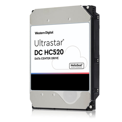 "HGST UltraStar DC HC520 12TB 7200RPM SAS 12Gb/s 3.5"" Enterprise HDD"