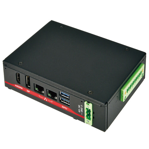 Mitac ME1-108T-8MD Dual Core Fanless Embedded System, 2GB Memory, 16GB Storage
