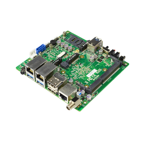 Jetway MT95-90 Intel Apollot Lake-I E3940 uTX Motherboard, 1x M.2 (M-key), 1 x M.2 (B-key), 1 x M.2 (E-key), Dual LAN, Support Wide Temperature