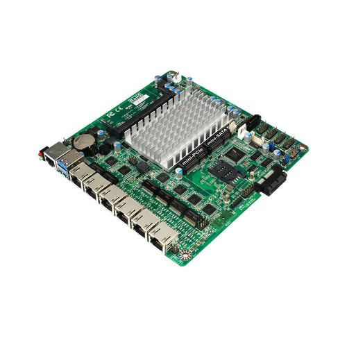Jetway NF692G6-420 Intel Apollo Lake Pentium N4200 Thin Mini-ITX Motherboard w/ 6x GbE LAN