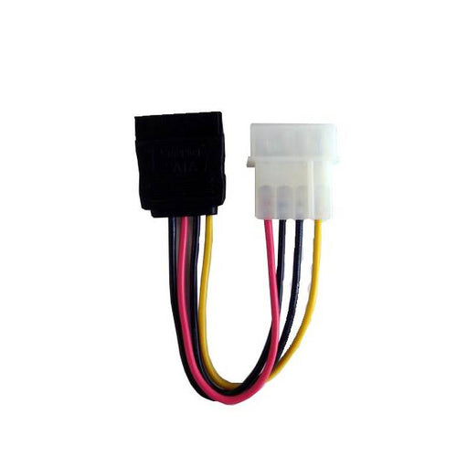 4-Pin Molex Male Connector to SATA Female Power Connector - POW-SATA