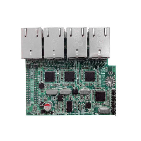 Jetway ADE4INLANG 4 Port Intel Gigabit LAN Gen2 Daughterboard