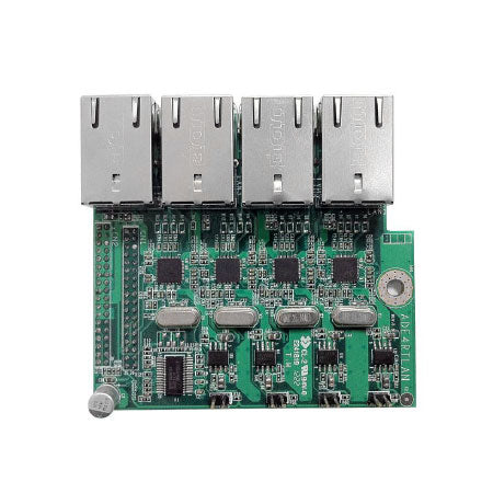 Jetway ADE4RTLANG 4 Port Realtek Gigabit LAN Gen2 Daughterboard