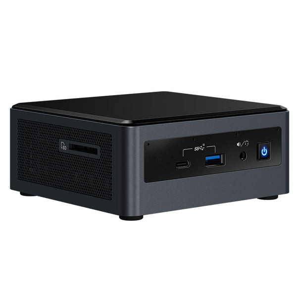 "Intel BXNUC10i7FNH Core i7-10710U 6-Core NUC Mini PC, 2.5"" Drive Bay"