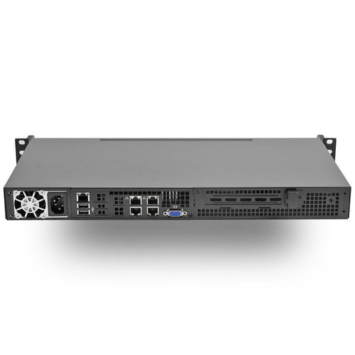 MITXPC Intel Atom C3558 Quad Core Short Depth 1U Rackmount w/ Quad GbE LAN Ports