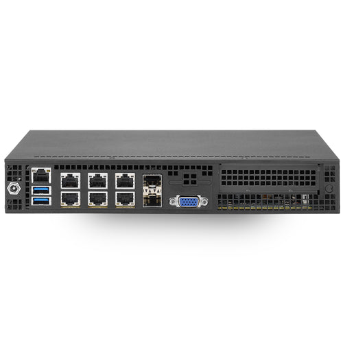 Supermicro Superserver E300-9D-4CN8TP Intel Xeon D-2123IT Networking PC w/ 2x SFP+, 2x 10GbE LAN, 4x GbE LAN, IPMI