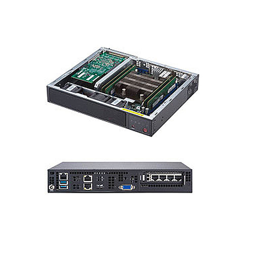 Supermicro SuperServer SYS-E300-9D w/ Intel Xeon D-2123IT, 2x 10GBase-T 10Gb/s LAN