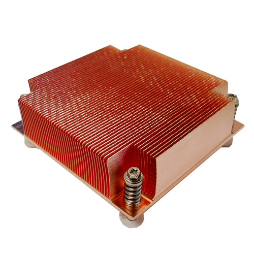 Dynatron K129 Intel LGA 1151/1155/1156 Passive Copper Heatsink for 1U Rackmount, 95W TDP