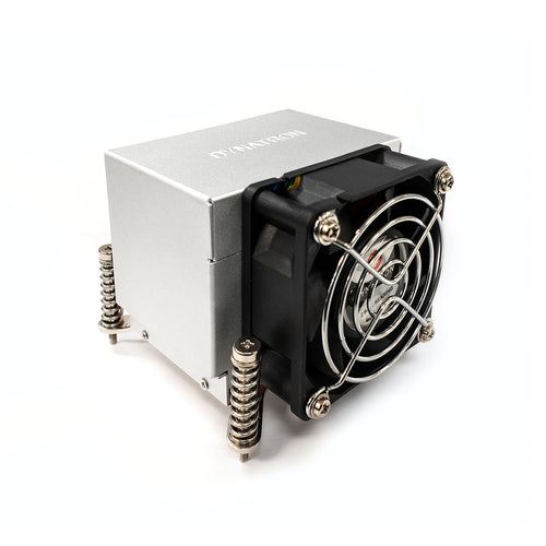 Dynatron K668 LGA115X LGA1200 Copper Heatsink CPU Cooler with Heat Pipes, 165W TDP