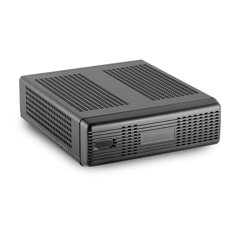 M350 Universal Fanless Mini-ITX Case - Black Color