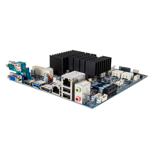GigaIPC Intel Celeron J1900 Quad Core Fanless Mini ITX Motherboard, 4 x Marvell SATA with RAID & Dual Intel LAN
