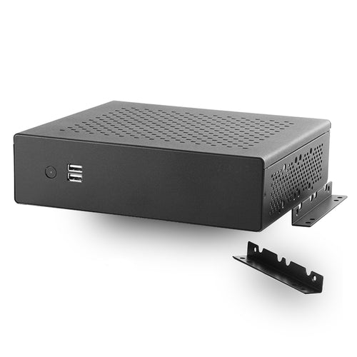 MITXPC MX500 Industrial Fanless Mini-ITX Case w/ Wall Mount Bracket