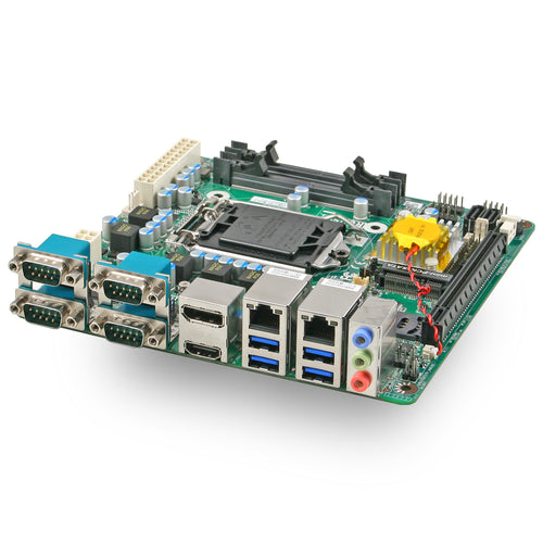 Jetway NF693T Intel H110 LGA1151 Dual LAN Industrial Mini ITX Motherboard with Onboard TPM