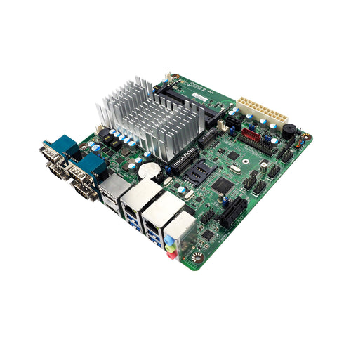 Jetway NF694-3350 Mini-ITX Motherboard w/ Intel Apollo Lake Celeron N3350 Dual Core with Dual Intel GbE LAN & 4 x Serial Ports