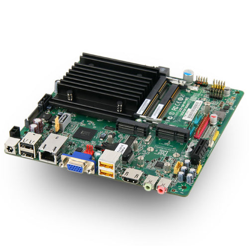 MITAC PD11TI MT Thin Mini-ITX Motherboard, Intel Atom N2800, Onboard DC,DN2800MT