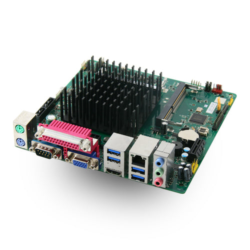 Mitac PD14RI-D Intel Celeron N3160 Quad Core Braswell fanless Mini-ITX Motherboard